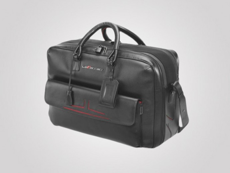 LaFerrari 48-hour Travel Bag is the perfect Valentine's Day gift for Ferrari fans