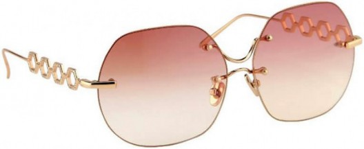 Clad in solid gold and diamonds the world's most expensive sunglasses go on sale for $34,000
