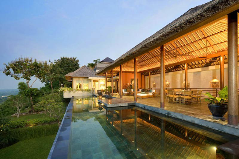 The Longhouse Holiday Villa in Bali With Exquisite Panoramic Views