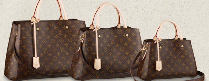 Louis Vuitton's Montaigne Bag with  LV Monogram Print