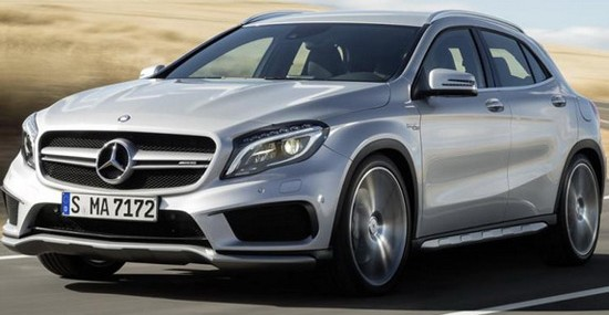 Mercedes Officially Unveiled The New GLA 45 AMG