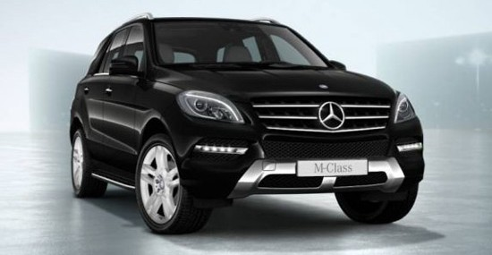 special edition for Australian customers is the model ML250 BlueTec Special Edition
