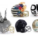 Designers One-of-a-kind NFL Helmets for Super Bowl XLVIII