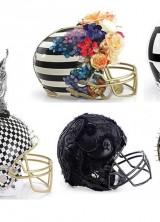 Designers One-of-a-kind NFL Helmets for Super Bowl XLVIII
