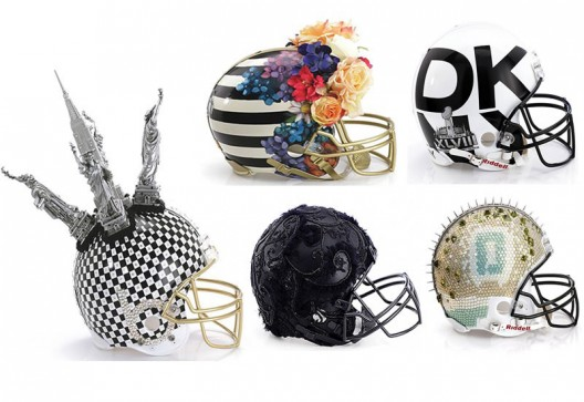 Designer Super Bowl Helmets To Be Unveiled At Bloomingdale's
