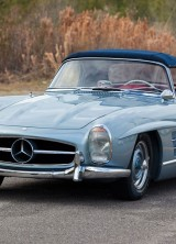 Natalie Wood's Mercedes 300 SL Roadster at RM Auctions