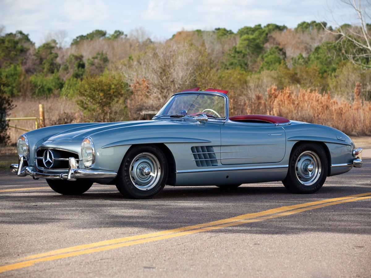 Audi For Sale In Ga >> Natalie Wood's Mercedes 300 SL Roadster at RM Auctions - eXtravaganzi