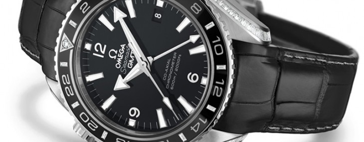 A studded world premiere for Omega Seamaster Planet Ocean Platinum