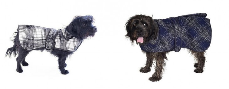 Oscar De La Renta Designs Winter Coats For Stylish Dogs