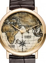 Piaget's Altiplano Scrimshaw Watch with 40,000 Year Old Mammoth Ivory Dial