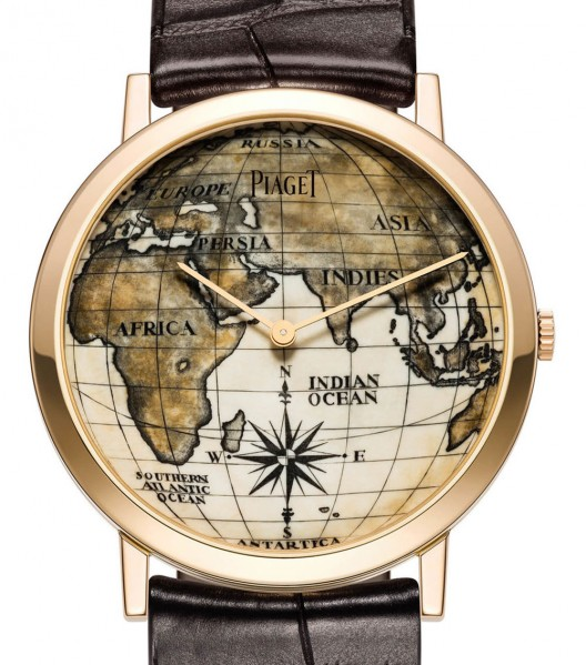Piaget was one of luxury brands who showcased a number of remarkable pieces this week, but this masterpiece certainly stands out - Altiplano Scrimshaw watch with the dial made from 40,000 years old fossilized mammoth ivory