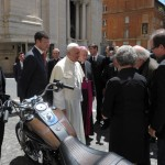 Pope Francis' Harley Davidson Goes Under the Hammer for Charity