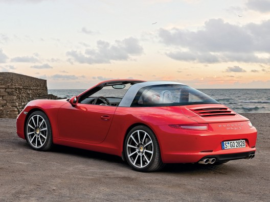 History Is Back With New Porsche 911 Targa