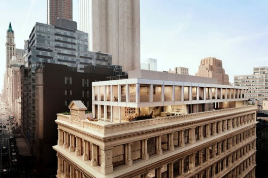New Shigeru Ban's penthouses to be built atop a 132-year old Tribeca building