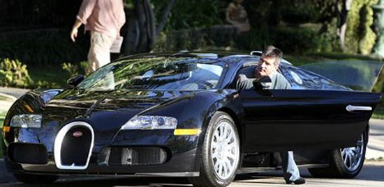 Simon Cowell Sells His Bugatti Veyron On Auction