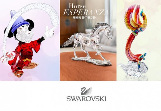 Swarovski Celebrates 2014 With Limited Edition Collectibles