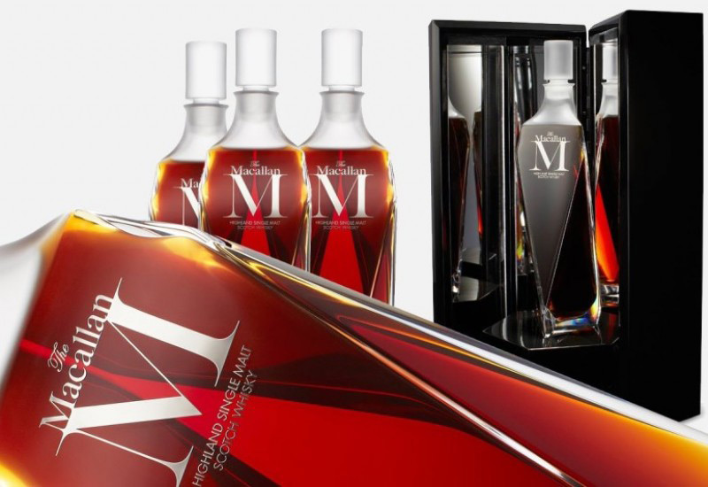 The Macallan 'M' sells for world record price of $628,000 at Hong Kong auction