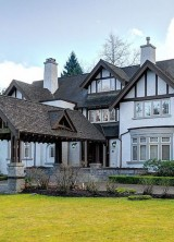 Tudor-style Mansion in Vancouver's First Shaughnessy on Sale for $18 Million
