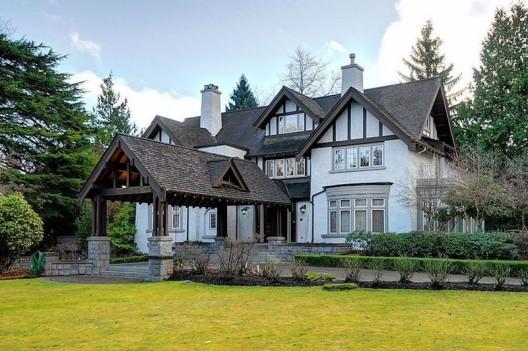 First Shaughnessy Tudor Mansion