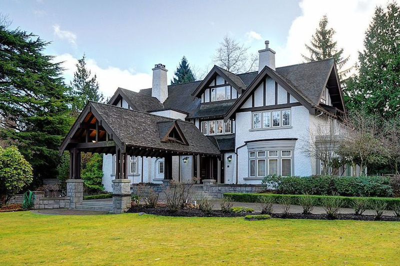 tudorstyle mansion in vancouvers first shaughnessy on