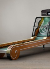 Vintage Arcade Skeeball machine for some retro playtime
