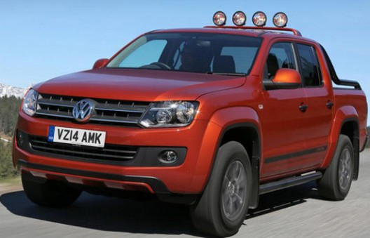 special edition Canyon pick-up model Amarok