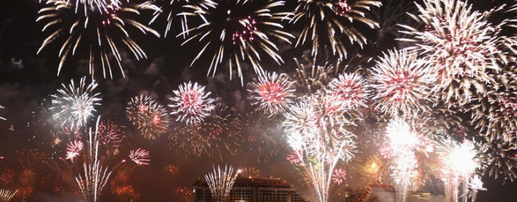Dubai 2014 firework display breaks world record