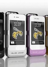 Popular Stun Gun Smartphone Case Yellow Jacket Debuts New iPhone 5/5s Model