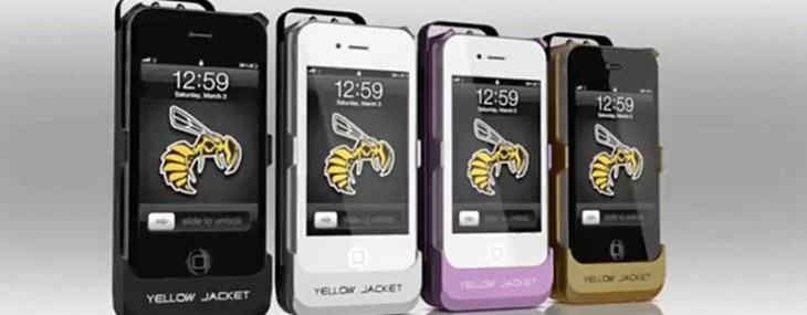 Smartphone Stun Gun Case by Yellow Jacket