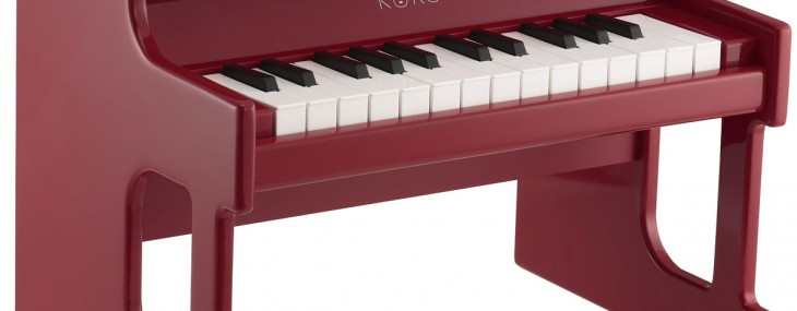 Simply named tinyPIANO is toy but features 25 keyboard sounds