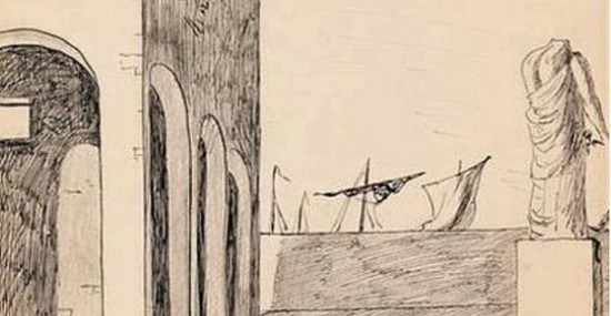 1913 Drawing by Giorgio de Chirico Sold for Over $2,1 Million