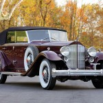 Original Dietrich 1932 Packard Twin Six Individual Custom Convertible Sedan at RM Auctions
