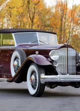 Original Dietrich 1932 Packard Twin Six Individual Custom Convertible Sedan at RM Auctions