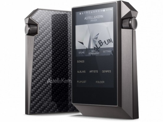 Astell & Kern AK240 carbon fiber wrapped portable media player costs $3700