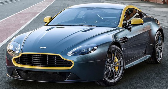 Aston Martin V8 Vantage N430 and Aston Martin DB9 Carbon Black