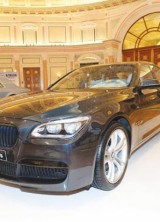 BMW 7 Series debuts at World of Luxury Expo in Riyadh