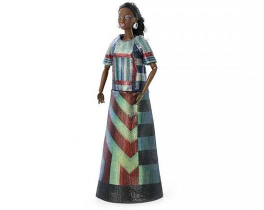 Barbie goes graphic in Brit designer Sadie Wiliams' avant garde designs