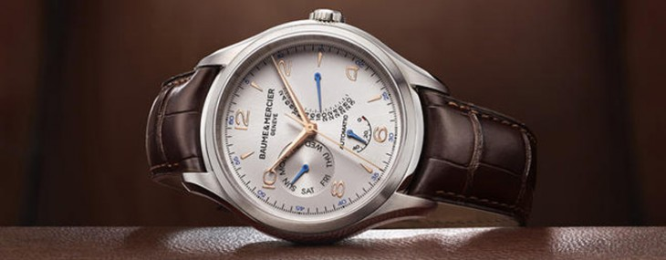 Baume & Mercier has introduced a new male model from Clifton collection