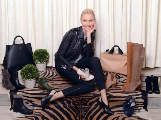 Cameron Diaz unveils footwear collection for fashion label Pour La Victoire