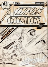 Earliest Superman Cover Art Known Could Fetch $200,000 At Heritage Auctions New York