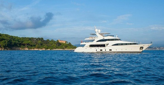 Superyacht of the week: Charter yacht Dyna
