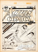 Earliest Superman Cover Art Known to Exist Sold for $286,800
