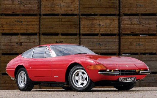 Ferrari 365 GTB/4 Daytona, with number 15569, will be auctioned by RM Auctions