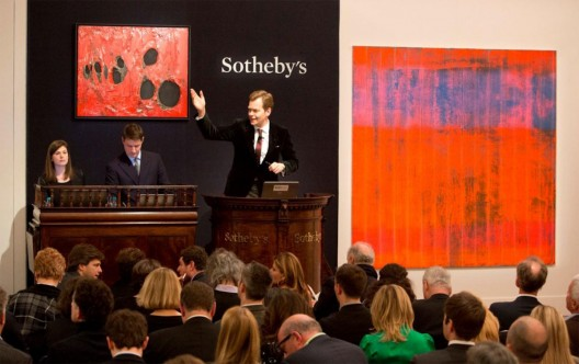 "Gerhard Richter's ""Wall"" Sold for $28.7 Million at Sotheby's"