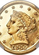 Gold Rarities Shines at Atlanta ANA Auction