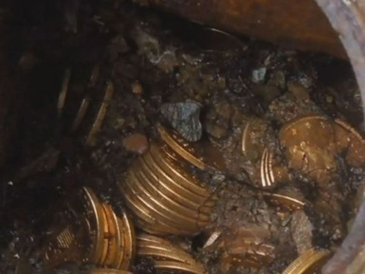 Saddle Ridge Hoard: Buried gold coin stash 'worth $10m'