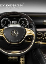 Gold Interior For The 2014 Mercedes S63 AMG, Is It Necessary