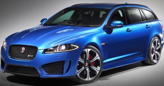 Jaguar XFR-S Sportbrake At Geneva motor show
