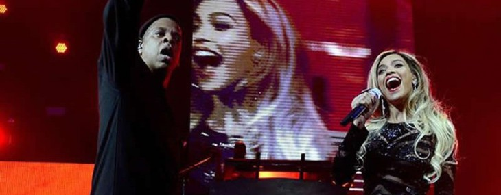 Beyoncé And Jay Z Perform At The Most Expensive Super Bowl Party