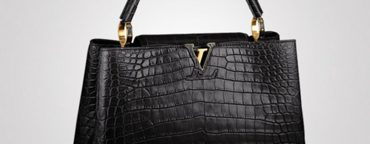 $48,000 Louis Vuitton's Capucines in Crocodile
